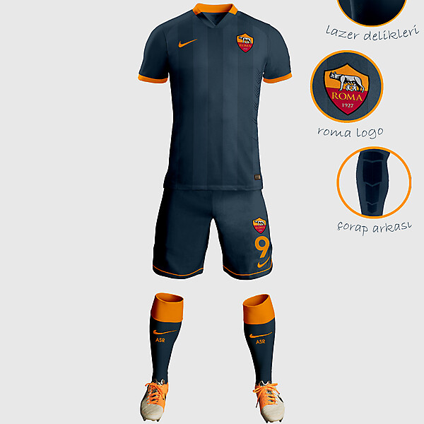 AS Third Away Kit Design