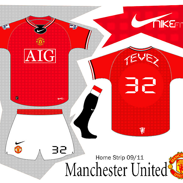 Man Utd Home strip