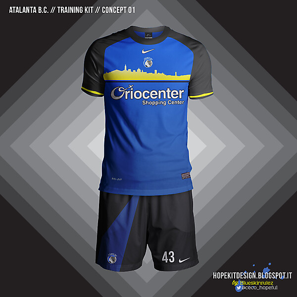 ATALANTA BC TRAINING KIT