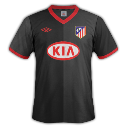 Atletico de Madrid fantasy kits with Umbro