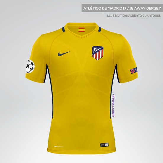 Atlético de Madrid 17/18 Away Jersey