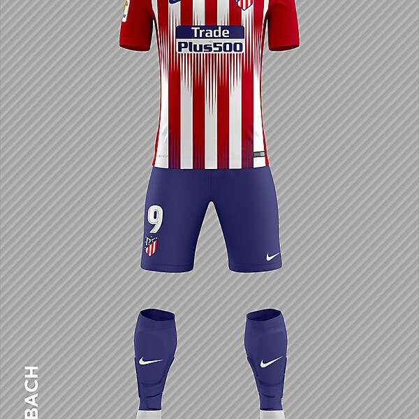 Atletico Madrid 2018/2019 Home Kit