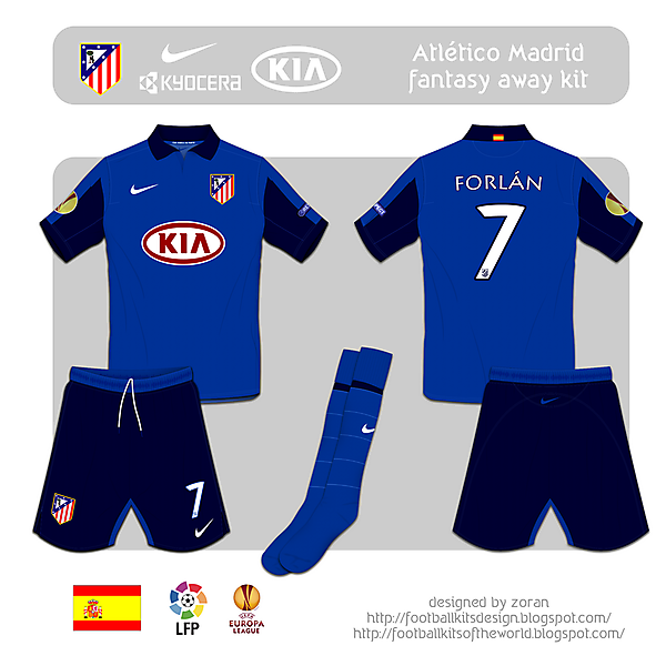Atletico Madrid fantasy away