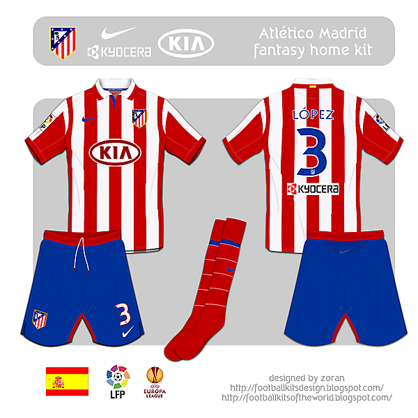Atletico Madrid fantasy home