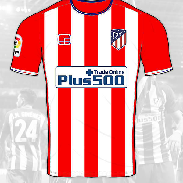 Atlético Madrid Home Shirt