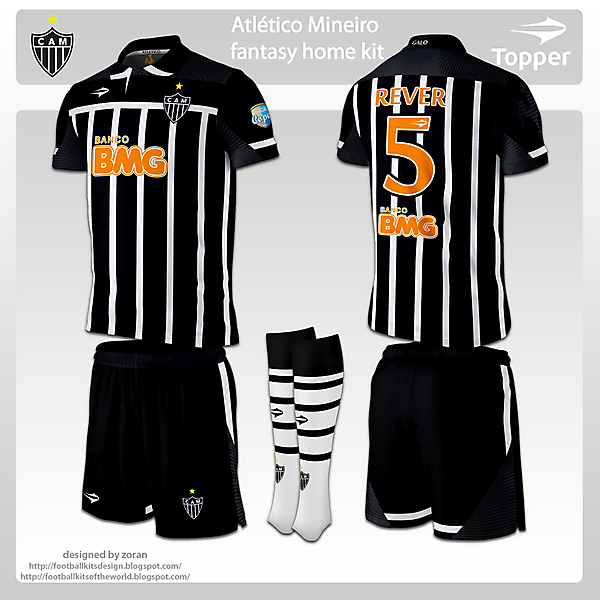 Atletico Mineiro fantasy home and away
