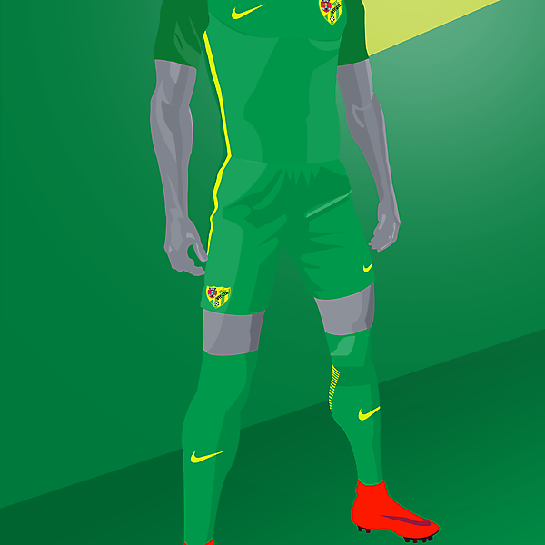 Atletico Vaslui x Nike Vapor - Away kit