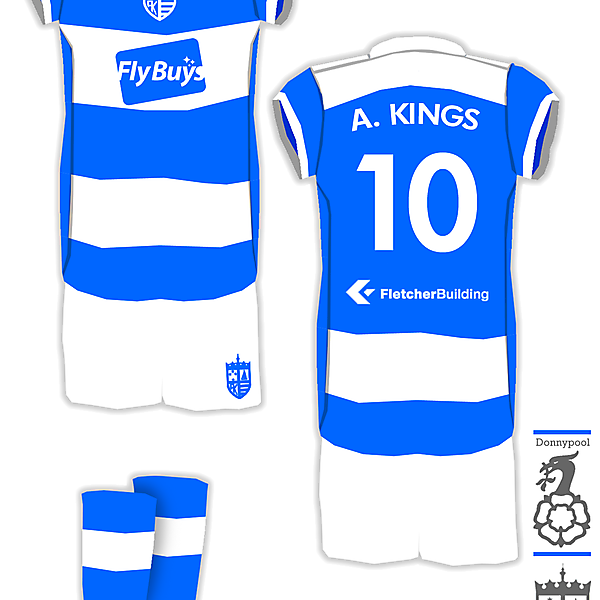 Auckland Kings Home Kit