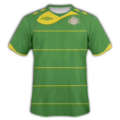 Australia Away 2010 Umbro World Cup Shirt