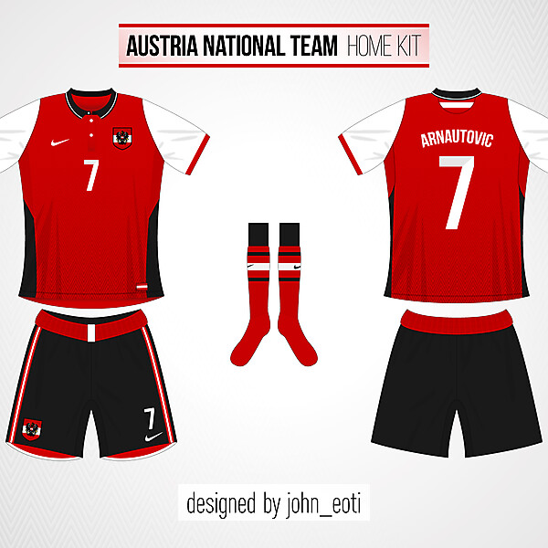 Austria Home - World Cup Competition