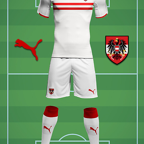 Austria Puma Away Kit