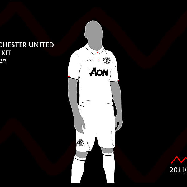 Manchester United Away by green