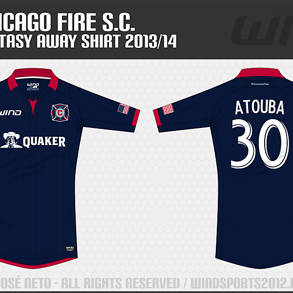 Chicago Fire, Away Shirt