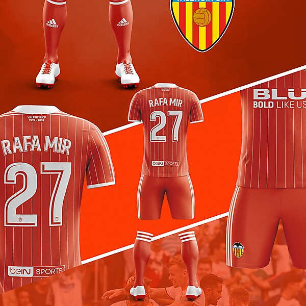 Away Fantasy Kit Valencia CF