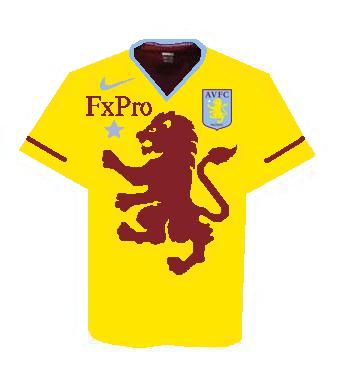 aston villa third