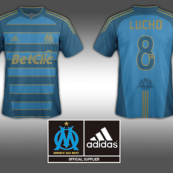 Away Jersey-Olympique de Marseille