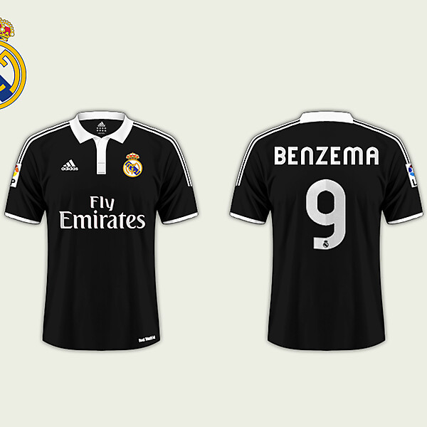 Away Kit // Real Madrid