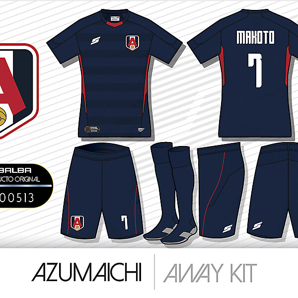 Azumaichi Away kit