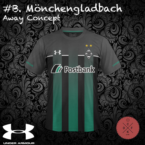 B. Monchengladbach Away Under Armor Concept