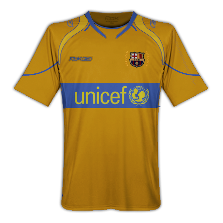 Barcelona Home, Away and Third