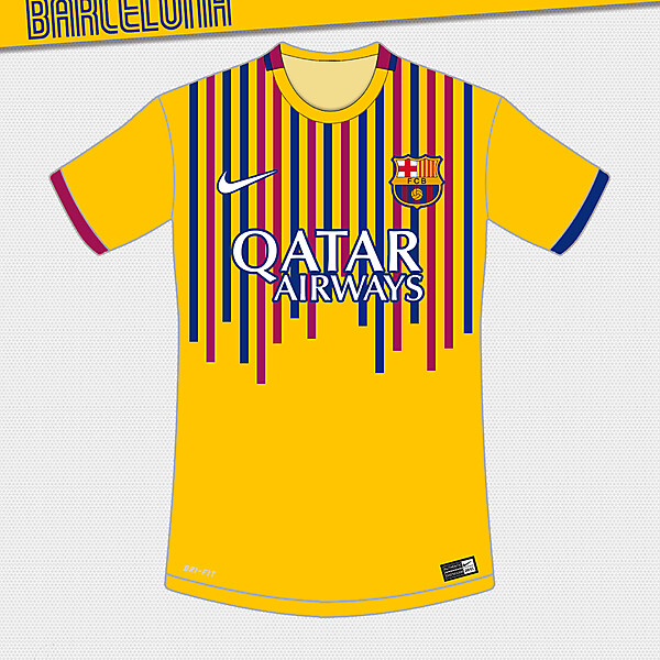 Barcelona Away Design