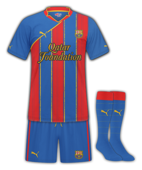 Barcelona Puma Home Kit