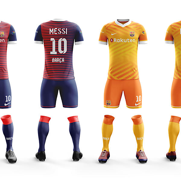 Barcelona Home and Away Concepts