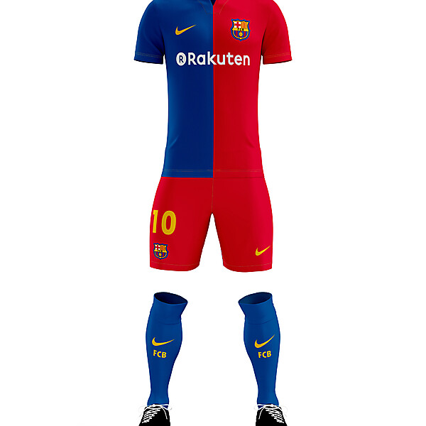 Barcelona Home Kit // erwin.prz