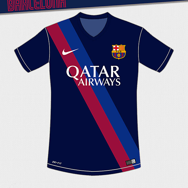 Barcelona Third Design