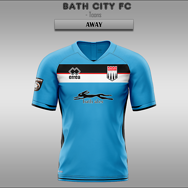 Bath City FC -- Home/Away/Third