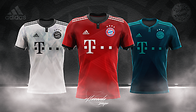 BAYERN MUNICH - Football Concept Kit 2018/2019