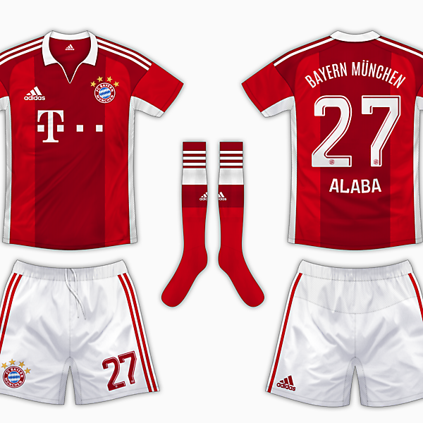 Bayern Munich Home Kit - Adidas