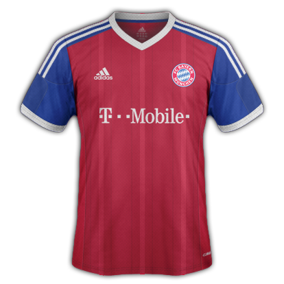 Bayern Munich Home kit 2015/16 with Adidas