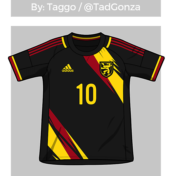 Belgium Away Shirt