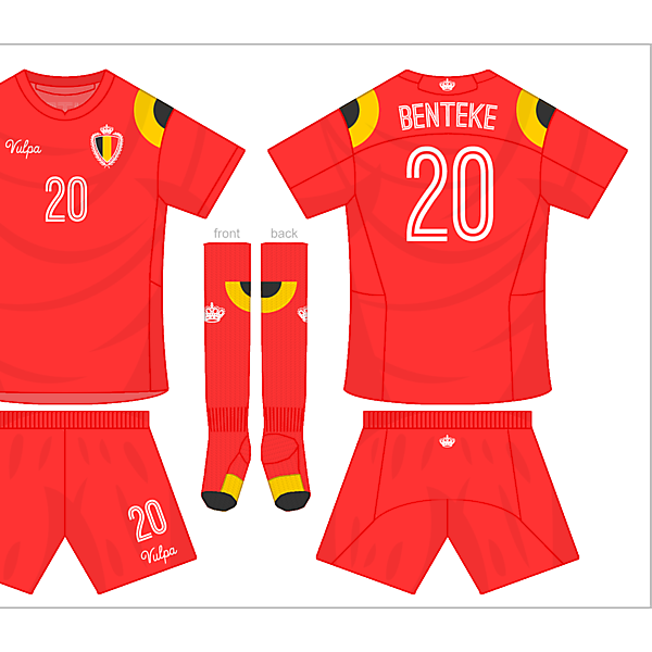 Belgium Home Kit