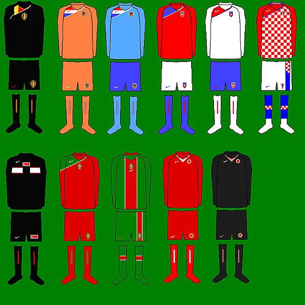 Nike World Cup Kits.