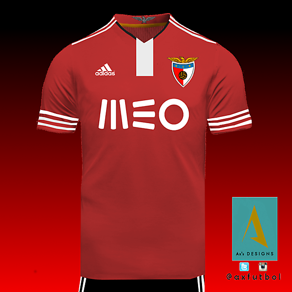Benfica Adidas Home Kit