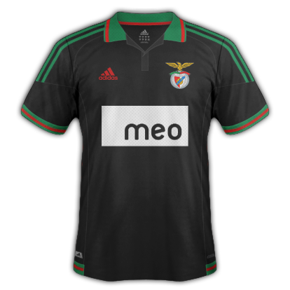 Benfica fantasy kits with Adidas