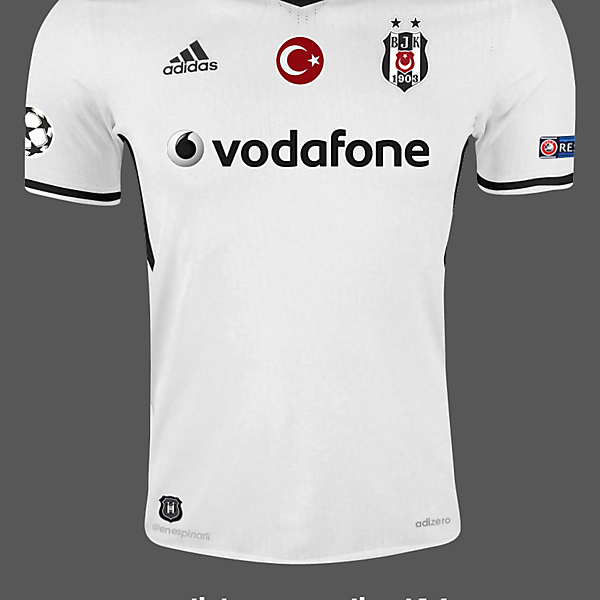 Besiktas 16/17 Home