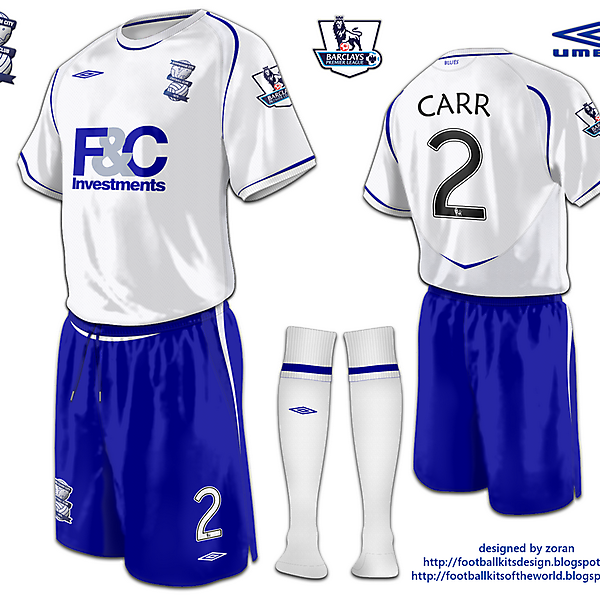 Birmingham City fantasy away