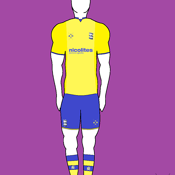 Birmingham City Away by AG Sports Co.