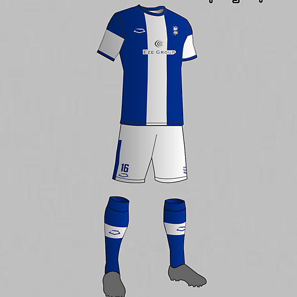 Birmingham City (England) Home Kit 2016