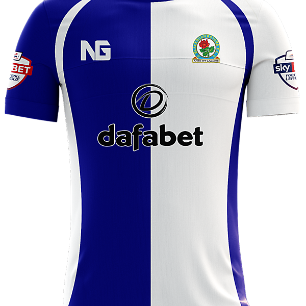 Blackburn Rovers Home Jersey concept