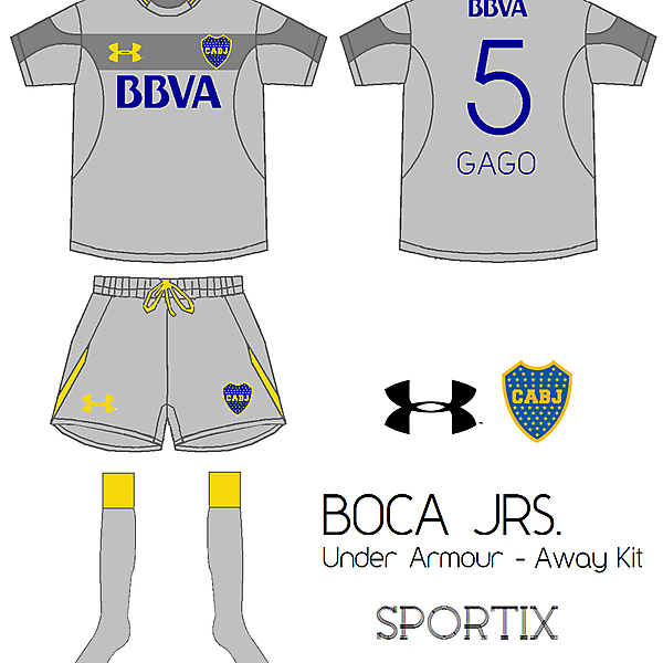 Boca Juniors - Away Kit By Under Armour
