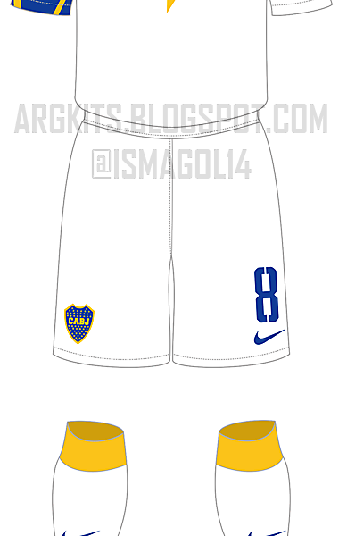Boca Juniors - Fantasy 3rd Kit