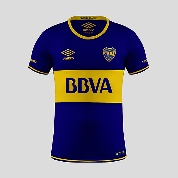 Boca Juniors - Umbro Home Kit