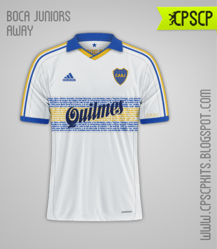 Boca Juniors Away