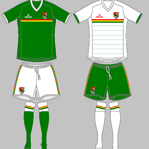 Bolivia WALON kits