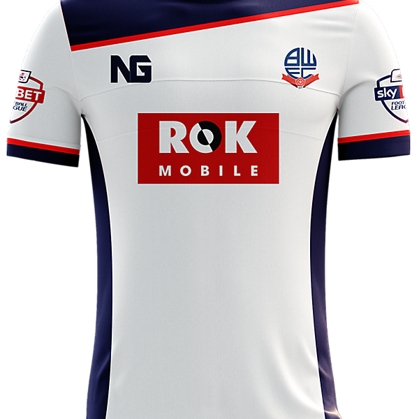 Bolton Wanderers Home Jersey concept