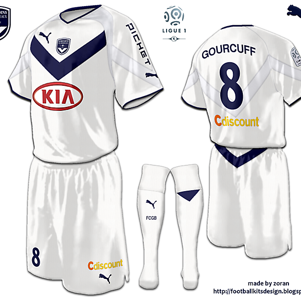FC Girondins de Bordeaux fantasy away
